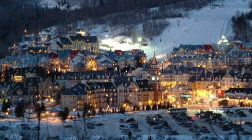 Take in the beauty and adventure of Mont-Tremblant. Enjoy a day of skiing the slopes, then heading back to your suite for hot beverages.