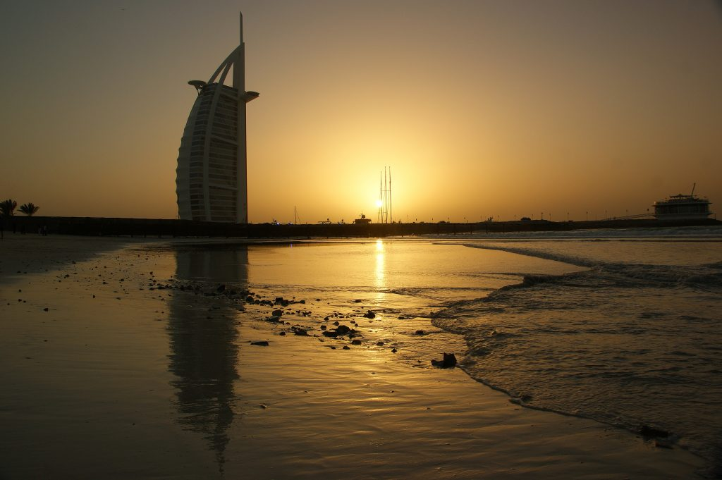 sunset-burj-al-arab